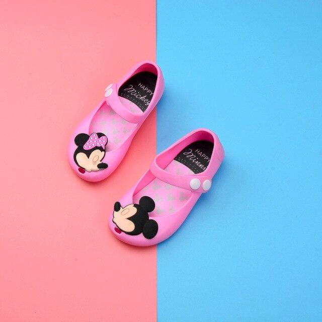 Children's Shoes 2019 New Summer Girls Sandals PVC Jelly Kids Beach Shoes Baby Cartoon Princess Shoes Children's Shoes 3