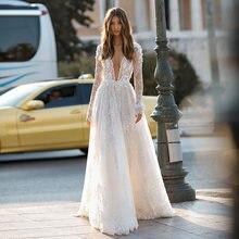 Verngo свадебное платье трапециевидной формы кружевное невесты
