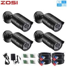 ZOSI 960H Analog CVBS CCTV Len Camera Module 1080P IR Cut Nightvision Video Waterproof Bullet Surveillance Camera for DVR Kiit