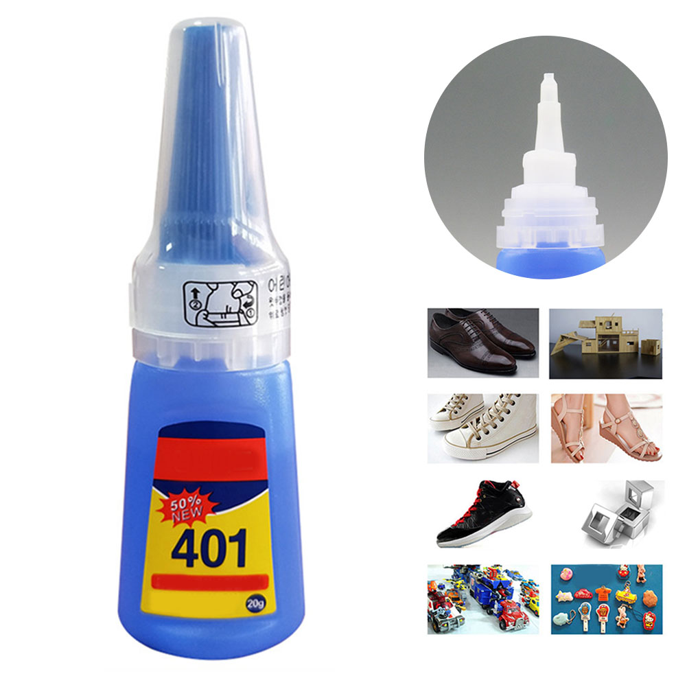 1 Bottle Industrial High Viscosity Superglue Multi Purpose Transparent Glue Quick Dry Long Lasting For Wood, Rubber, Ceramic 20g