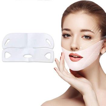 10 sztuk 4D twarzy podnoszenia maska podwójne V kształt twarzy napięcie ujędrniający maska twarzy odchudzanie podbródek policzek szyi podnoszenia uroda narzędzia do pielęgnacji skóry tanie i dobre opinie YHCTEC Żywica Universal Size Face Lifting Mask Hand made 110 v (不含)-220 v (不含) Brak elektryczne Mask Skin Care