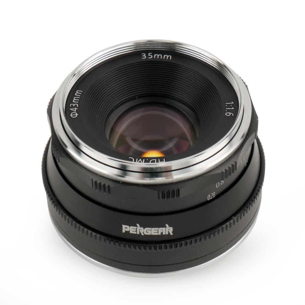 Objektive fr Spiegelreflexkameras Kamera & Foto Pergear 35mm F1.6 ...