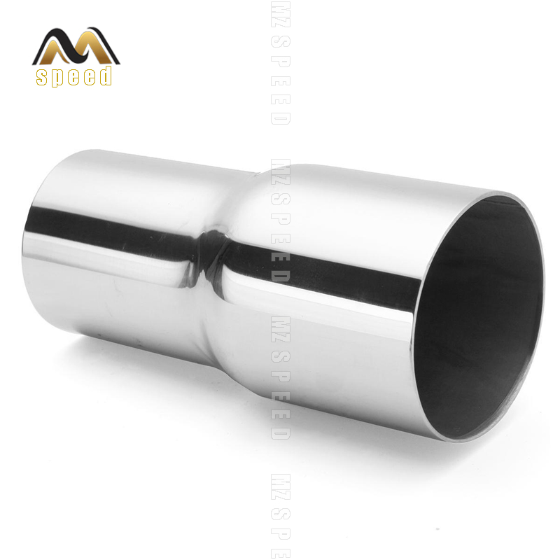 Auto parts For 48mm out 57mm Exhaust system exhaust manifold 304 stainless steel changeover sleeve large and small tube