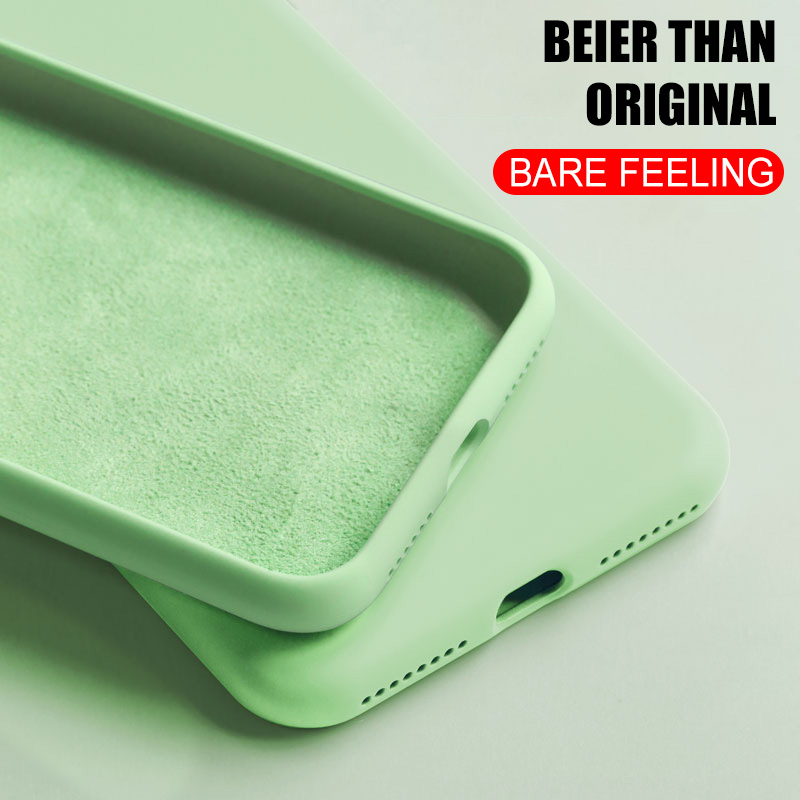 <font><b>Original</b></font> silicone <font><b>case</b></font> for <font><b>iPhone</b></font> 7 8 Plus back cover for Apple <font><b>iPhone</b></font> X Xs 11 Pro Max XR 6 <font><b>6S</b></font> i7 i8 i6 <font><b>Cases</b></font> Phone Cover image
