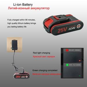 Image 5 - 25v 1.5ah capacidade da bateria broca mini sem fio ferramentas elétricas chave de fenda elétrica broca baterias chave de fenda