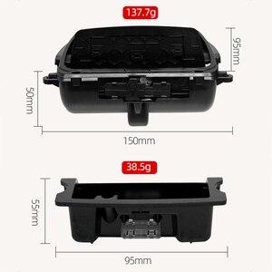 Image 4 - Auto Posacenere Nero di Plastica Center Console Posacenere Scatola di Montaggio Adatto per BMW 5 Serie F10 F11 F18 520 51169206347