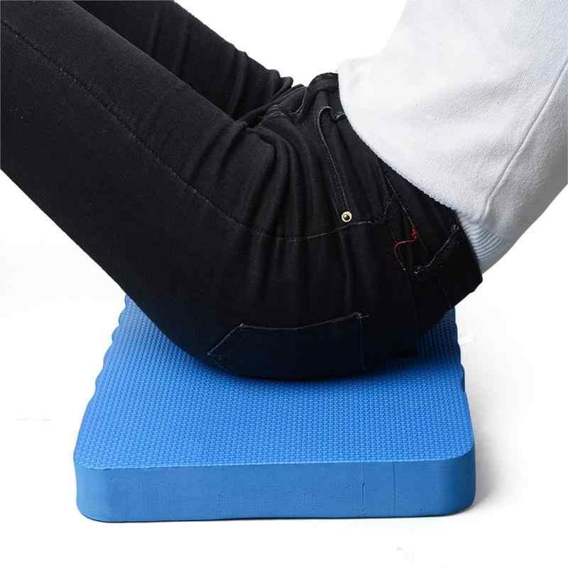 Comfort Eva Dikke Pad Knie Bescherming Pad Voor Tuin Garage Yoga Fitness Mobiele Werk Pad Multifunctionele Blauw Zwart