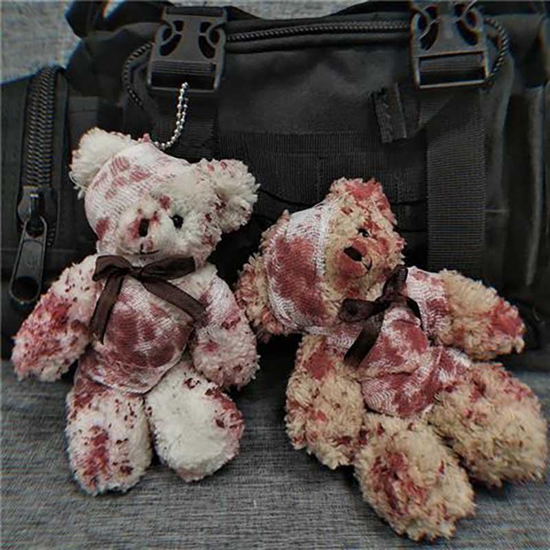 NiceMixLittle Bear Plush Toys Silk Scarves Teddy Bear Doll Wedding Birthday Gift Plush Small Toy Bear