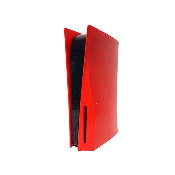 Placa frontal de silicona para PS5, carcasa protectora, accesorios para videojuegos, Kits personalizados