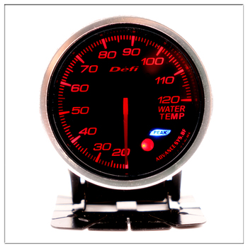 DEFI Water Temperature 60mm For BMW E 30 34 36 38 39 46 53 60 82 83 87 90 92 F11 20 Mini Marine Water Temp Gauge Round pointer image