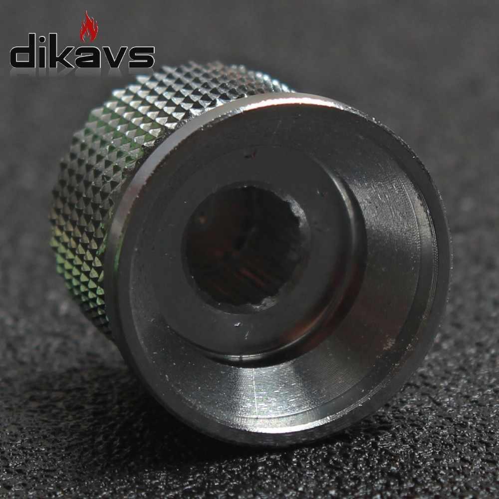 Bouton de Volume de bouton d'encodeur de potentiomètre en aluminium de bouton en métal usiné solide