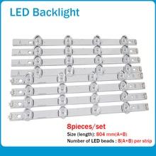 """New 40 PCS/set LED backlight strip bar Replacement for 39 Inch TV 39LB561V 39LB5800 innotek DRT 3.0 39""""-A DRT3.0 39"""" A/B type"""