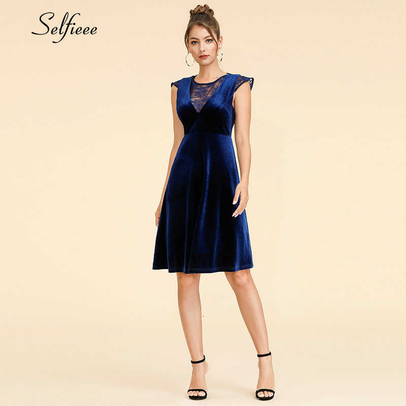 New Sexy Dresses A-Line O-Neck Lace Mini See-Through Sexy Formal Dresses Cheap Autumn Night Club Party Dresses Robe Femme