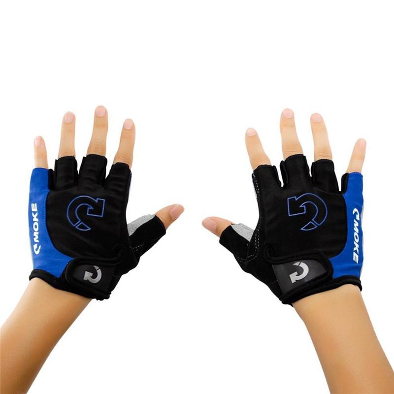 Men Cycling Gloves Bicycle Sports Half Finger Gloves Anti-slip Gel Pad Motorcycle MTB Road Bike Gloves S-XL