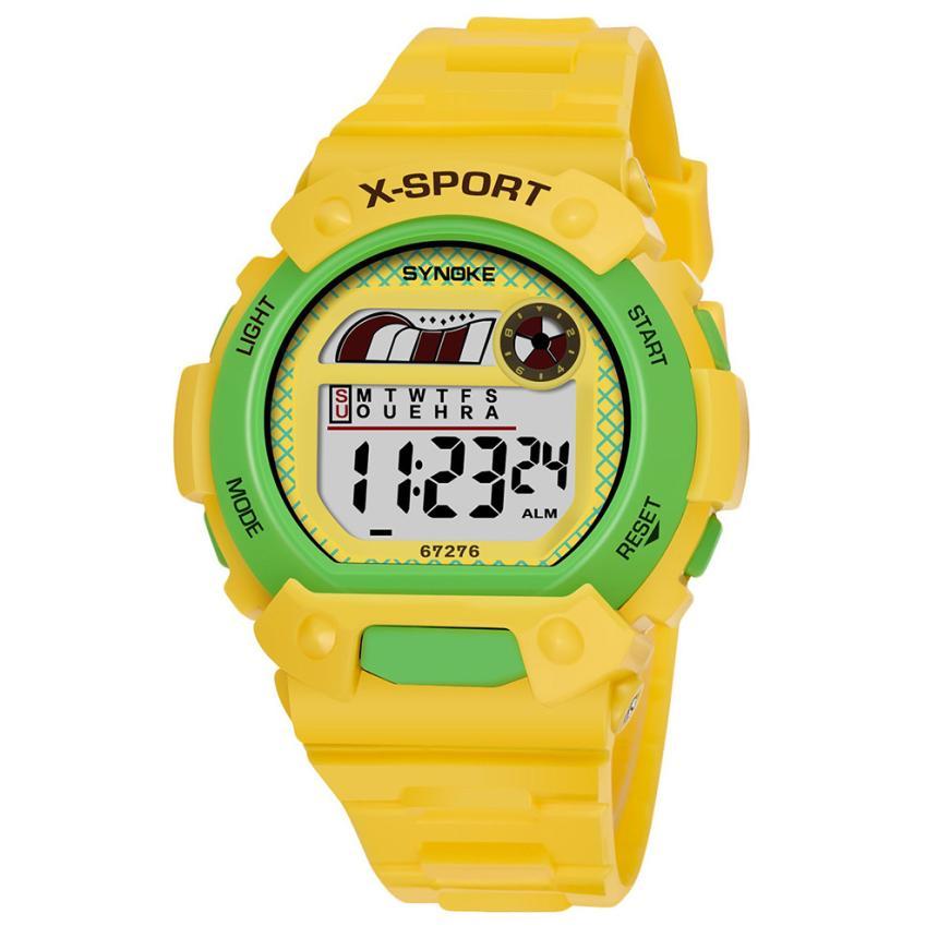 SYNOKE Sport Student Children Watch Kids Watches Boys Girls Clock Child Waterproof Digital Wristwatch Electronic Wrist Watch