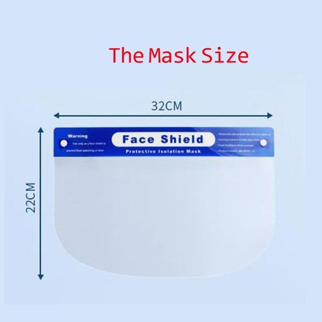 5/10pcs Creative protective face mask shield Kitchen Oil-Splash Proof Safety Mask Transparent Virus protection full face mask 4