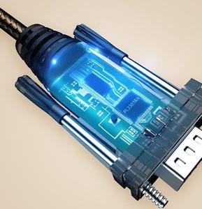 Image 5 - סוג C כדי סידורי כבל מתאם USB3.1 כדי DB9 RS232 COM ממיר 1.5m