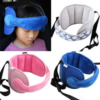 Capretti del bambino Regolabile Seggiolino Auto Supporto Per la Testa Testa Fissa A Pelo Cuscino di Protezione del Collo di Sicurezza Box Poggiatesta 1