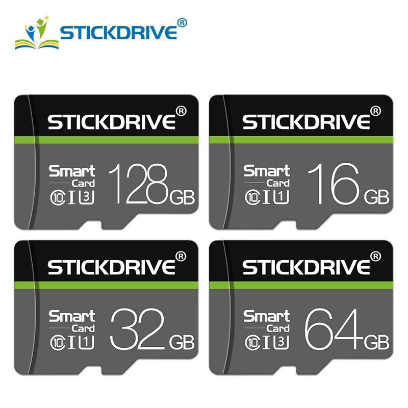 Высокоскоростная карта памяти Class10 SDXC/SDHC Carte Micro SD 128 ГБ/64 Гб/32 ГБ/16 ГБ/8 ГБ, карты Micro sd для автомобильного видеорегистратора с бесплатным адапт...