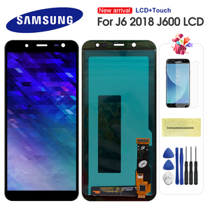 LCD J6 For Samsung Galaxy J6 2018 J600 J600F J600Y LCD Display Touch Screen Digitizer Assembly Replacment Can Adjust Brightness