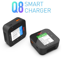 Original NEW ISDT Q8 Smart Charger 500W 20A 1 8S Pocket Lipo Battery Balance Charger for Lilon LiPo LiHV NiMH Pb RC Models DIY