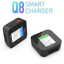 Oryginalna nowa inteligentna ładowarka ISDT Q8 500W 20A 1 8S kieszonkowa bateria Lipo zabawka do utrzymywania równowagi z ładowarką do Lilon LiPo LiHV NiMH Pb zdalnie sterowanych modeli DIY