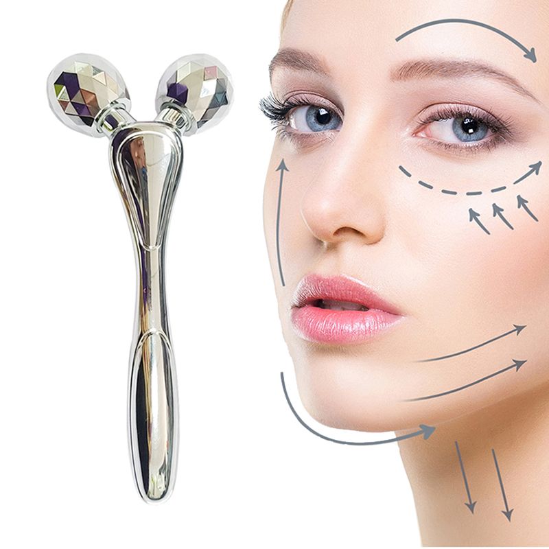 3D Roller Massage Face Lift Facial Massager Instrument Beauty Wrinkle Removal Tightening Skin Full Body Shaping Relaxation Tools