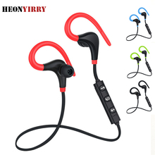 Sport Bluetooth Earphones Stereo Wireless In Ear Handfree Headset for Running Wa