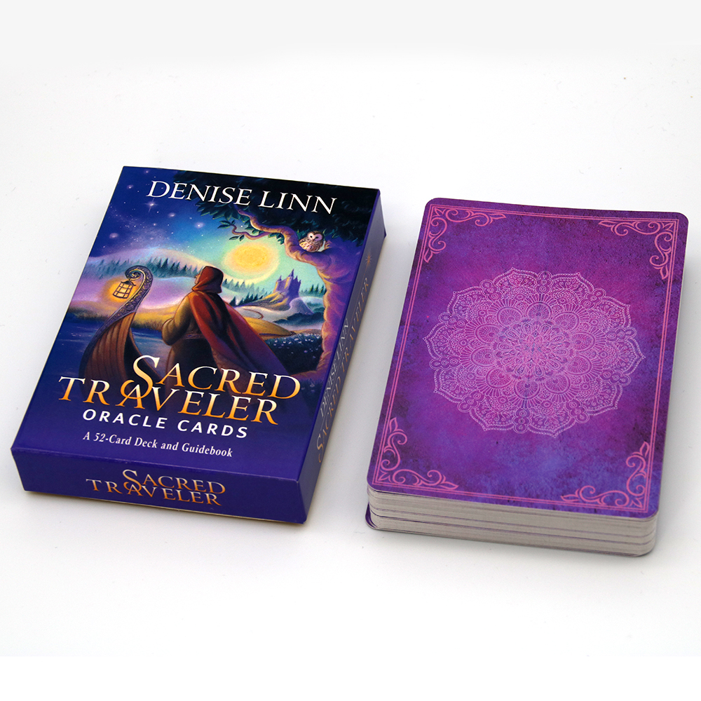 Sacred Traveler Oracle Cards: A 52-Card Deck And Guidebook Cards Denise Linn Guides You To A Personal Spiritual Transformation