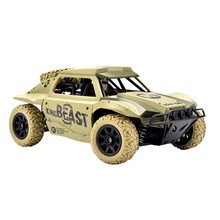 Remote Control Car 1/18 Scale 4WD High Speed Vehicle 15.5Mph 2.4Ghz Radio Control Off Road RTR Racing Monster Truck Beast Short(China)