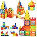 130 stücke Große Größe Magnetische Konstruktor Designer Magnet Bausteine Mit Magnetische Bau Set Spielzeug Für Kinder