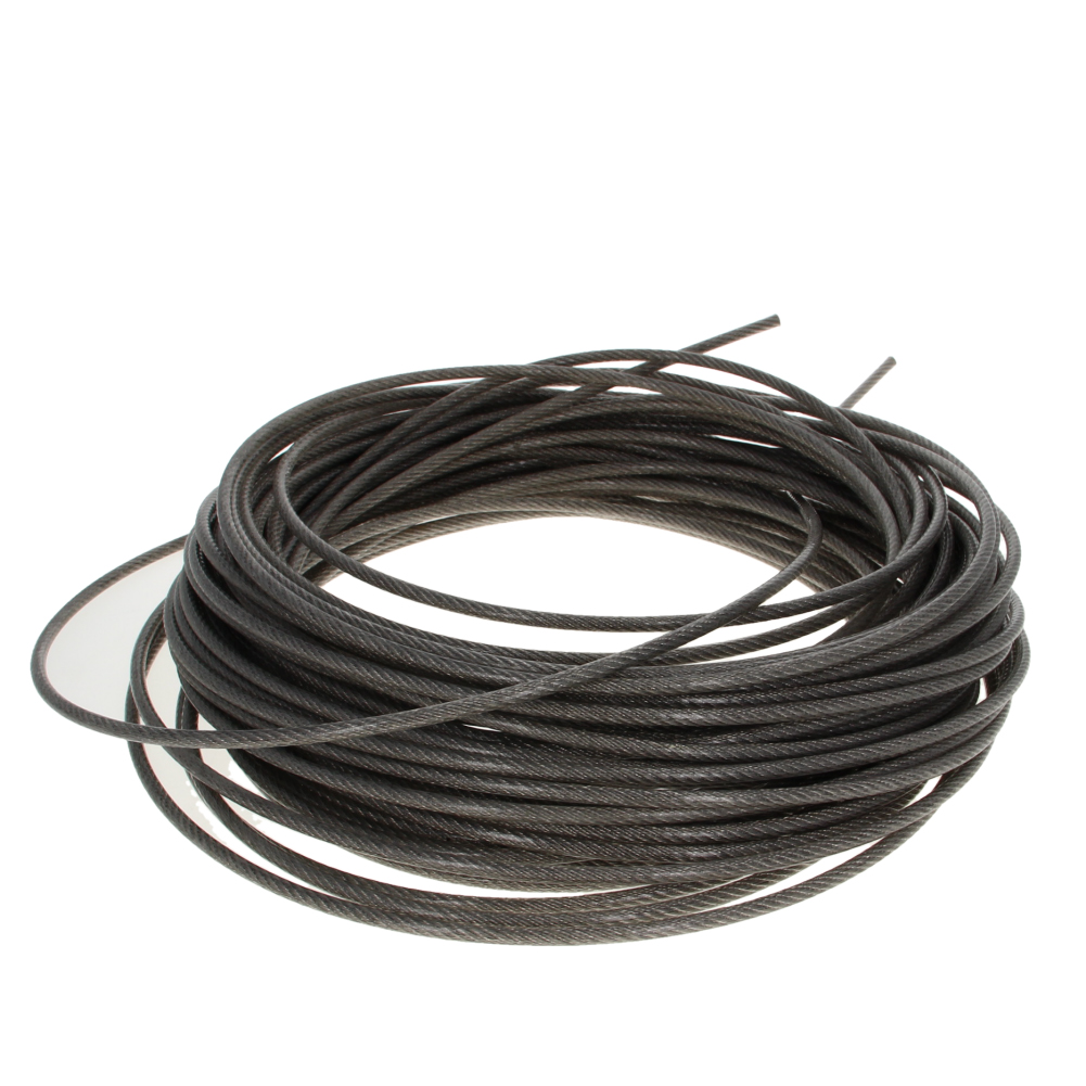 Hot PVC Coated Steel Wire Cable 304-Stainless-Steel Flexible Wire Rope 4mm Dia 6~30m Long Soft Lifting Cable Clothesline 1pcs