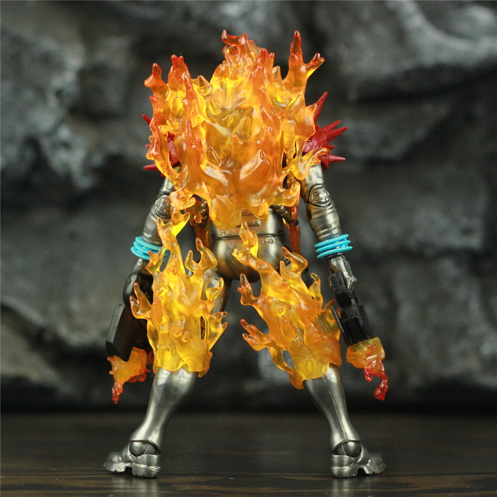"""Image 2 - Marvel Legends Cosmic Ghost Rider 6"""" Action Figure Fire Whip Without Motorbike From Vehicle Set Riders Series Original Toys DollAction & Toy Figures   -"""