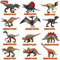 Oenux 高品質 PVC ジュラ紀恐竜公園モデルおもちゃジュラ紀 T-Rex スピノサウルストリケラトプス恐竜アクションフィギュア子供のおもちゃ
