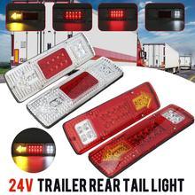 2 sztuk 12V 24V samochodów platforma ciężarówki światło hamulca lampa kierunkowskazu tylne światło cofania dla przyczepy ciężarówki autobus przyczepy kempingowe łodzi kempingowych