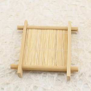 Plate Holder Soap-Tray Dish-Storage Wood Bathroom Bamboo Natural Shower Levert New Dropship