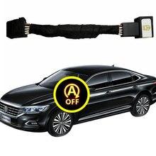For VW Golf 7 7.5 Passat B8 Tiguan mk2 Atlas T-roc Automatic Stop Start Engine System Off Device Control Sensor Plug Stop Cancel