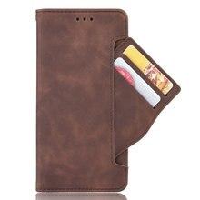 Coque en cuir à rabat pour Xiaomi, compatible modèles Redmi Note 8 Pro, 8 T, 8 T, 8 T, avec fente pour carte amovible