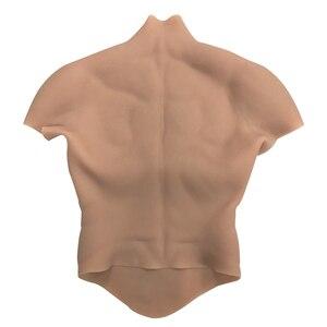 Image 2 - コスプレ偽筋肉胸腹マッチョソフトシリコン人工シミュレーション筋肉女装のための dragqueen トランスジェンダー