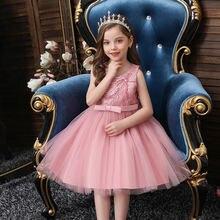 Рождественское платье; Платье для маленьких девочек; Кружевное
