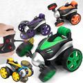 Kuulee беспроводной пульт дистанционного управления качающийся трюк наклонная Тележка Электрический автомобиль игрушка для детей мальчик