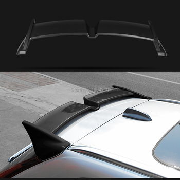 Car Styling ABS Plastic Painted Black White Gray Color Rear Spoiler Trunk Boot Wing Spoiler For Volvo XC60 2018 2019 2020
