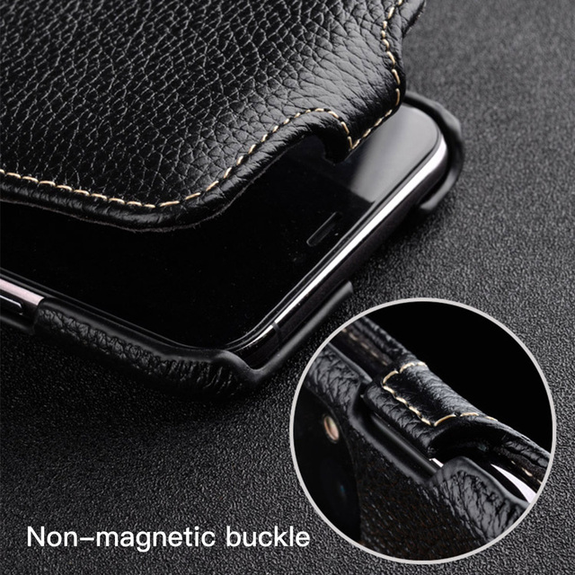 Melkco Genuine Leather Flip Phone Case For iPhone 12 Pro Max mini 11 X Xr Xs Max 7 8 SE Business Luxury Real Cow Cases Bag Cover 3
