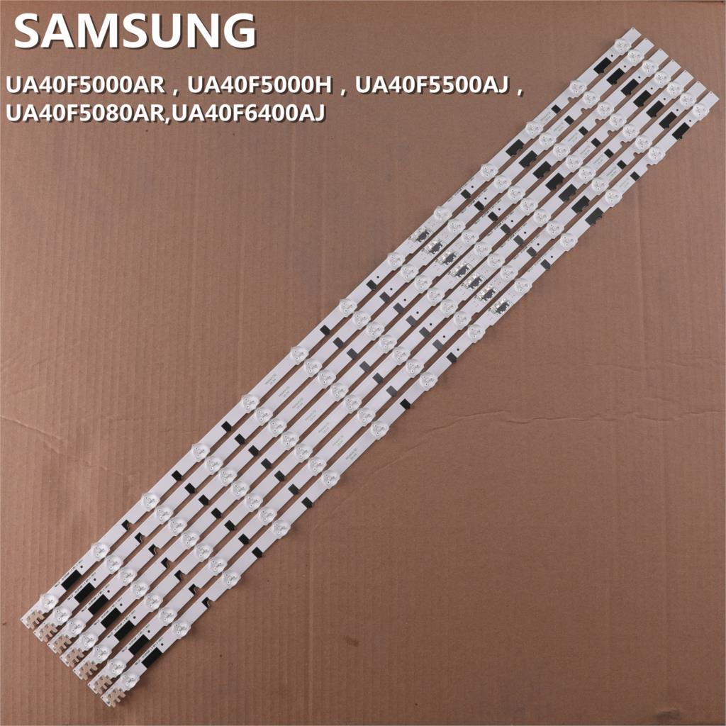 Image 4 - (New Kit)14 PCS LED strip for Samsung UE40F6400AK D2GE 400SCA R3  D2GE 400SCB R3 2013SVS40F L8 R5 BN96 25305A 25304 25520A  2552AIndustrial Computer