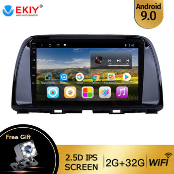 EKIY 10.1''IPS For Mazda CX5 CX-5 CX 5 2012 2015 Car Radio Multimedia Video Player Navigation GPS Android 9.0 No 2din Dvd Player image