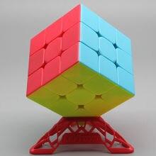 Qiyi 56 Guerreiro S mm 3x3x3 3x3 Velocidade Cubes Puzzles Velocidade Cubo Mágico Profissional Brinquedo cubo Cubo Magico Das Crianças Caçoa o Presente