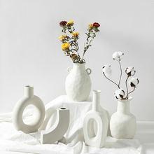 Скандинавская ваза керамическое украшение оптовая продажа креативный