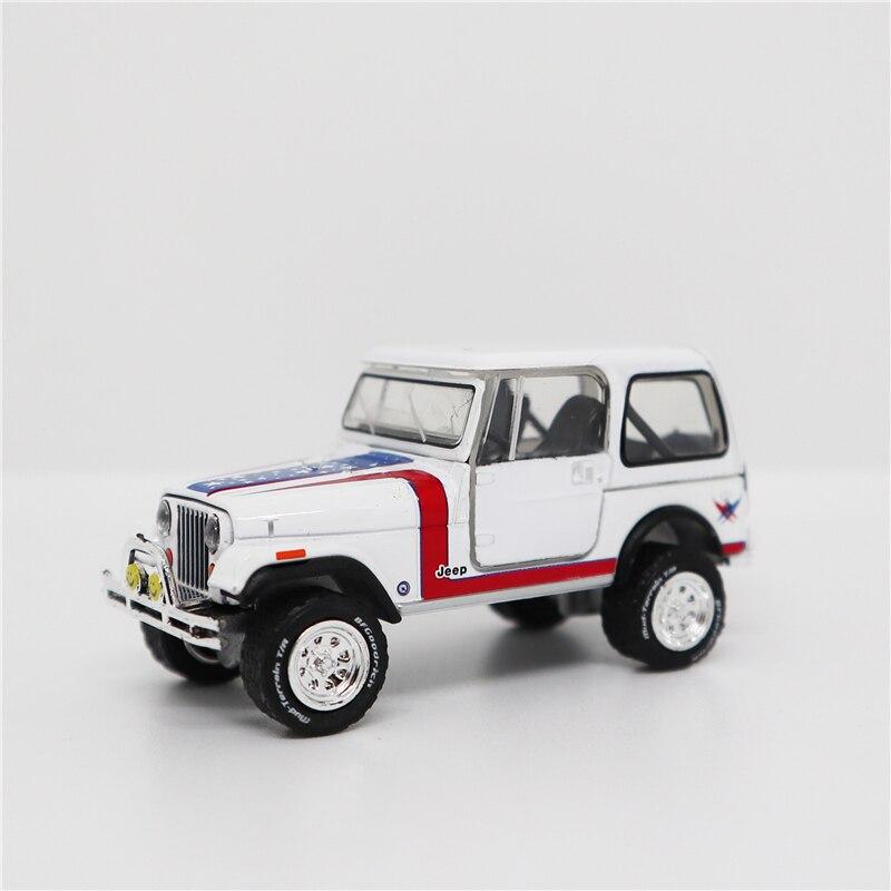 Greenlight 1:64 Jeep CJ-7 1981 Diecast Model Car No Box