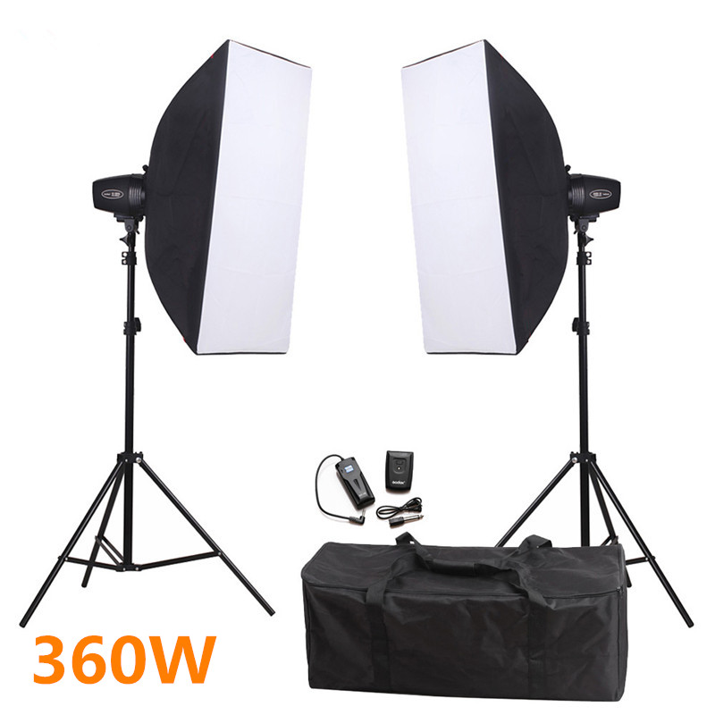 Photography 360ws Godox K-180A Monolight Flash Strobe Flash Light Softbox Stand Flash Lighting Kit for Camera Photo Video Studio