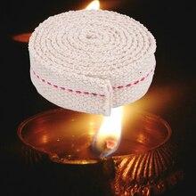 Kerosene-Lamp Oil-Lamp-Making Wick Lighting-Lantern Cotton-Thread DIY Flat for 1mx20cm